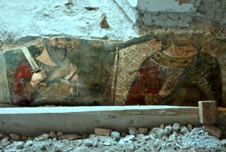 medieval frescoe
