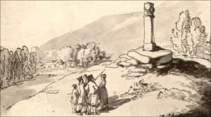 Pillar of Eliseg 1797