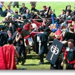 Welcome to the medieval battle re-enactment sport known as Dagorhir
