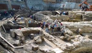Medieval Treasure site, Bulgaria