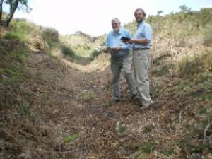 Medieval pathways are tracked down on Purbeck heath