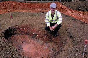 iron pit Melksham