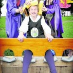 Knights of old joined the crowds at Wallingford's Medieval Fair