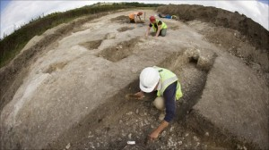 Work unearths evidence of a medieval manor house in Kent