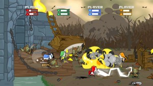 Castle Crashers PSN Releases in the New World