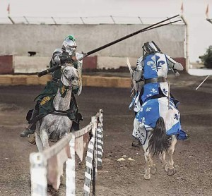 Jousting, swordplay are on display at Tulare County Fair