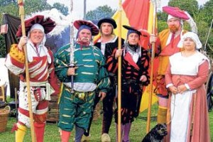 Medieval merriment makes historic day