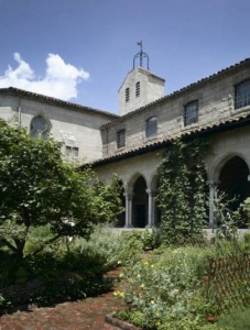 Cloistered away in New York City