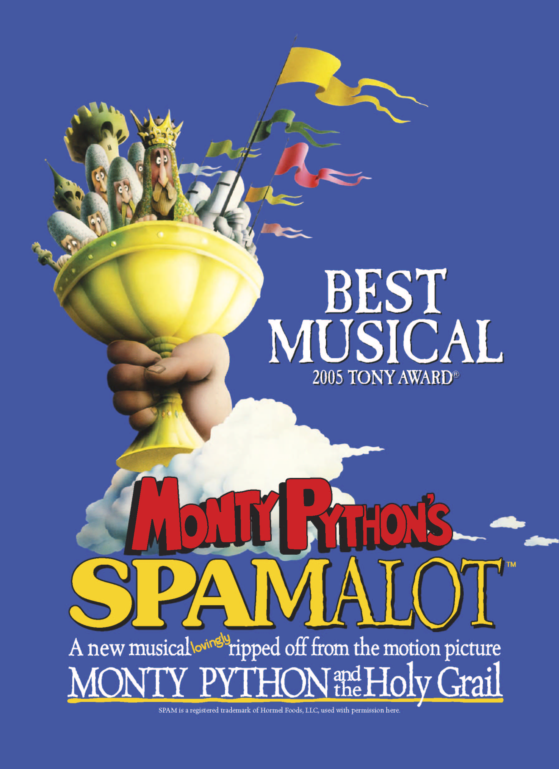 Spamalot will be at The Playhouse Oct. 14-15