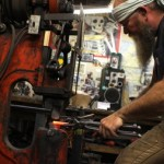 White Hart Forge finds history lovers who love artisan work