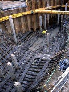 Newport Ship Excavation