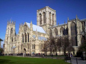 Walking is the only way to experience York, England