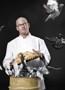 Heston Blumenthal goes medieval as he brings spit-roasting to Knightsbridge hotel