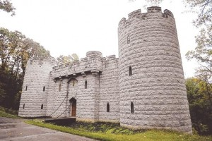 Cara McCandless and Barton Branstetter's castle-home in Marshall, Pa.