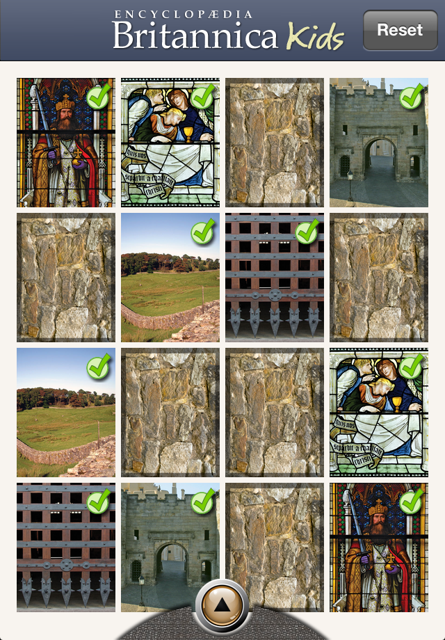 Britannica Knights and Castles app