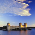 Finland, It-Suomi, Savonlinna, Olavinlinna Castle