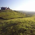 Carreg Cennen Castle, Trapp, Carmarthenshire, Wales