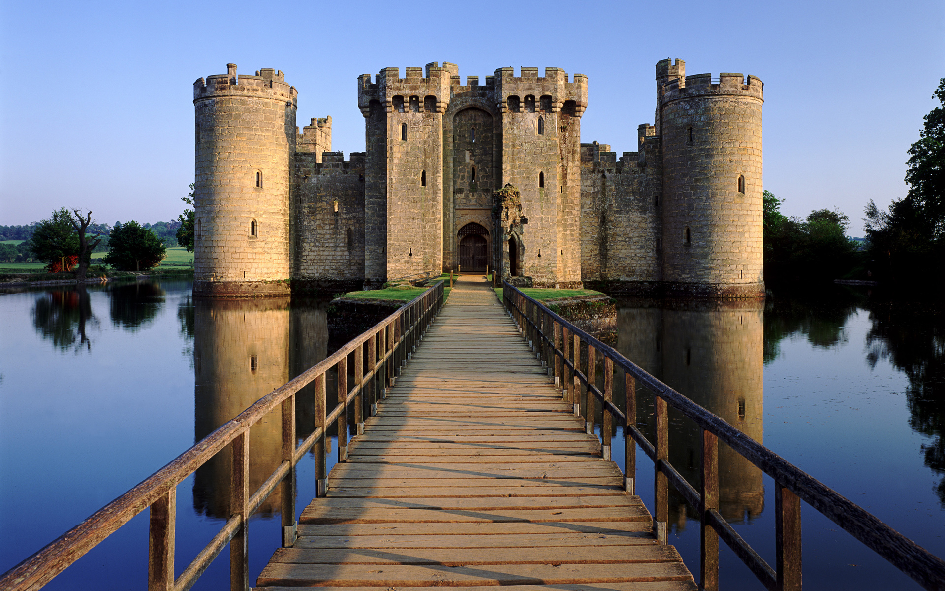 Bodiam Castle  East Sussex  UK Castle