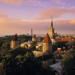 Old Town from Toompea, Tallinn, Estonia