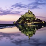 Le Mont-Saint-Michel, Normandie, France (St Michael's Mount in Normandy)