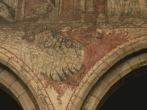 Medieval painted churches in England and Wales