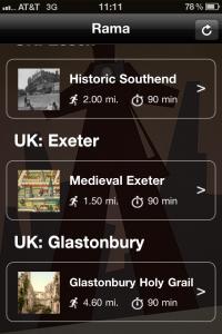 Rama Travel App Medieval Exeter