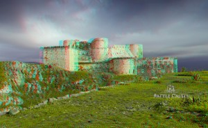 Crac des Chevaliers 3d Battle Castle