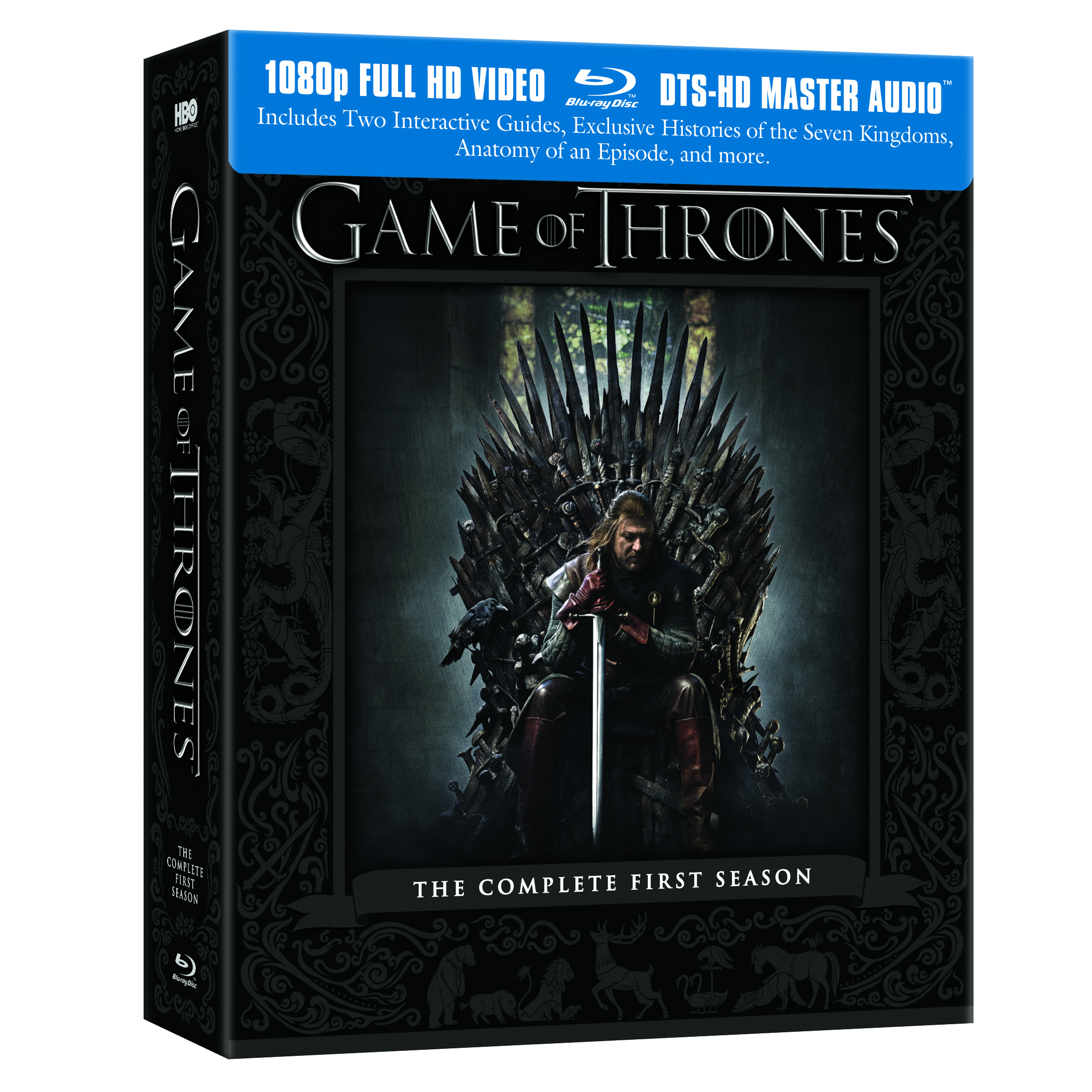 game of thrones dvd blu ray medieval archives. Black Bedroom Furniture Sets. Home Design Ideas