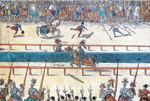 Jousting Tournament between Henry II and Lorges