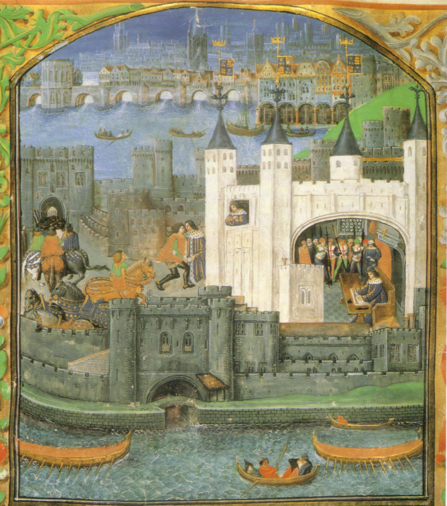 Learn about everyday life in medieval London through a course with    Medieval Nobles Manuscript