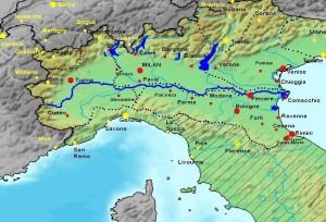 Po River | Medieval Archvies