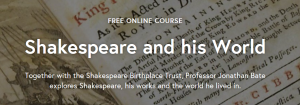 Shakespeare-futurelearn-course