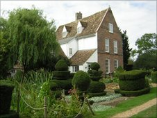 The manor which dates back to the Norman era, Hemingford Grey