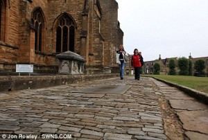 Parishioners told path at 1,300 year-old medieval abbey is too dangerous to walk on