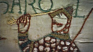 King Harold died after being shot in the eye, and William the Conqueror was victorious