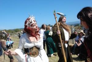 Excalibur Medieval festival in Arcata draws a crowd