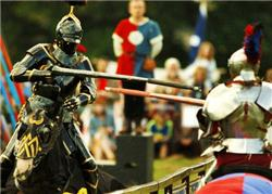 Bicycle Jousting, transferring a medieval sport into a modern sport