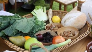 Medieval diet aids healthy eating message