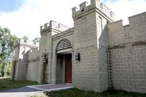 Castle near Merrifield remains hidden