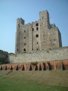 Rochester Castle wall restoration almost complete