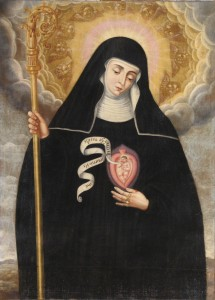 Papal audience topic: St. Gertrude, great German mystic and theologian