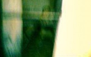 Ghostly photograph taken at execution site