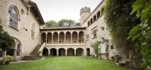 Castillo de Santa Florentina patio