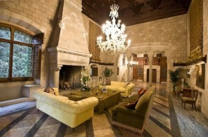 Castillo de Santa Florentina living room