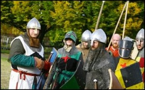 Robin Hood Pageant sees Nottingham Castle go back in time