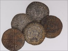 medieval coin hoard
