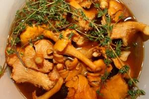 Zupa Gryzbowa Mushroom Soup; Battle Castle