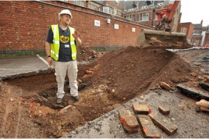 Richard III car park dig