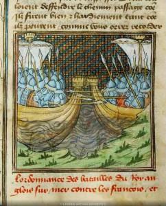 Naval battle of l'Ecluse