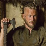 Vikings Ragnar Lothbrock played by Travis Fimmel
